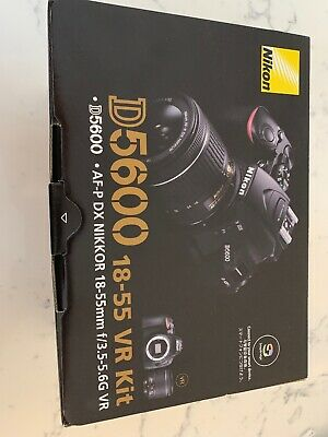 Nikon D D5600 24.0MP Digital SLR Camera 18-55 VR KIT