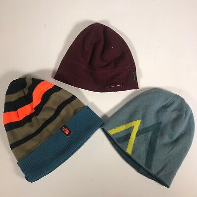 e86ab133 LOT OF 3 Outdoors Beanie Hat / Caps, The North Face, Arc'teryx ...