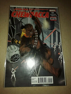 Marvel Star Wars Chewbacca Us Comic Issue 005 Free Postage Ex Condition