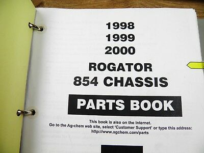 854 rogator parts manual with cummins engine 1998 1999 2000