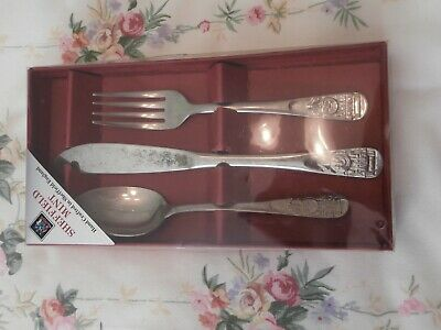 Thomas The Tank Engine Boxed Cutlery Set 1990's