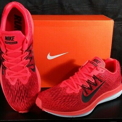 7bb5a752e3a4 NEW! Nike Zoom Winflo 5 Men s Running Shoes Bright Crimson AA7406 600 Size  13