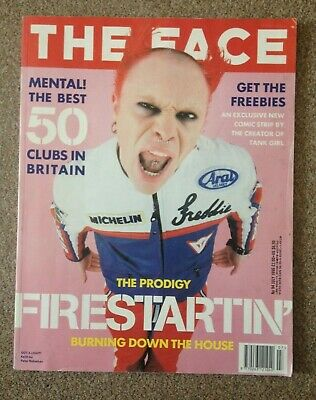 The Face Magazine Keith Flint Photo Cover July 1996
