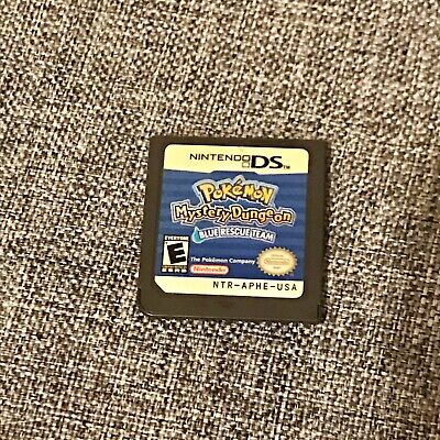 Nintendo DS 2DS 3DS Game Cartridge - POKEMON MYSTERY DUNGEON BLUE RESCUE TEAM