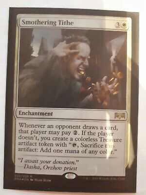 Mtg smothering tithe foil x 1 great condition