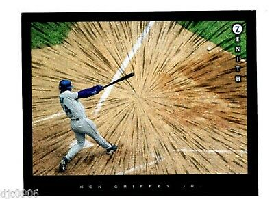 Ken Griffey Jr. 1997 Zenith Dufex  8x10 single parellel Seattle Mariners Batting