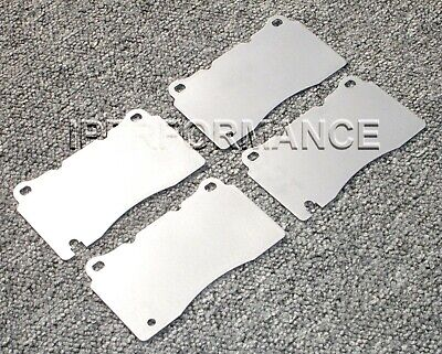 Titanium Brake Heat Shield Set Notched; Ford GT / GT40 Brembo 05-06 Front