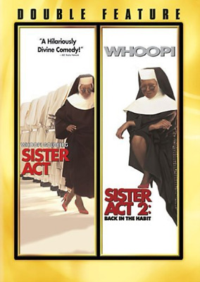 COMEDY-Sister Act/Sister Act 2 DVD NEW