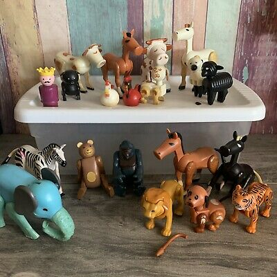 .Fisher Price Vintage Little People Animals