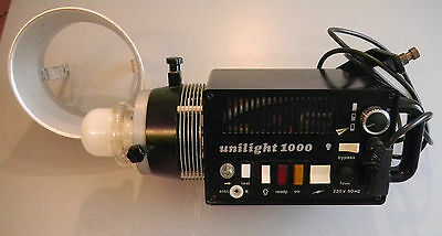 Prl) Aef Unilight 1000 W Flash Luce 5.500 °K Photo Light Foto Potenza Variabile