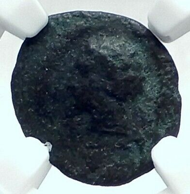 CARTHAGE in Zeugitana Authentic Ancient 350BC Genuine Greek Coin NGC i77617