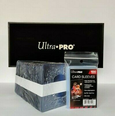 "Ultra Pro 3"" x 4"" Toploaders & Clear Sleeves for Trading Cards - 100 count"