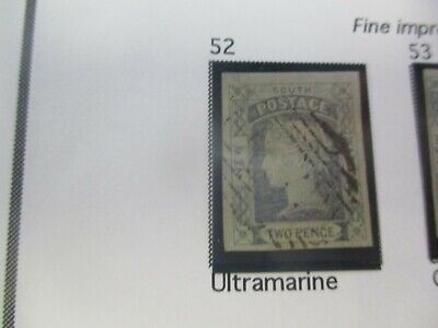 NSW Stamps: Laureates Imperf Used  - Rare  (d252)