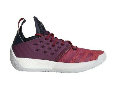 85411cc29f7 Adidas James Harden Vol. 2 Boost Bold Red Maroon Grey AH2124 Mens Size 12