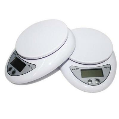 Portable 5kg 5000g/1g Digital Kitchen Food Diet Weight Balance Scales Home 2 AAA