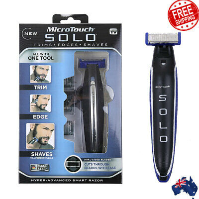 MicroTouch Micro Touch SOLO Men Electric Shaver Rechargeable Trims Edges Razor