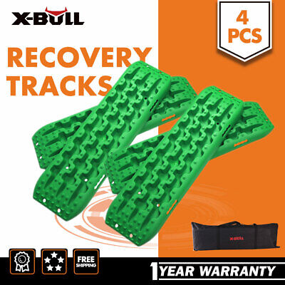 X-BULL NEW Recovery Tracks Sand Track 10T 4pcs Offroad 4WD With Carry Bag