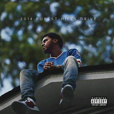 2014 Forest Hills Drive Album Cover Poster J Cole Art Print size 16x16 24x24