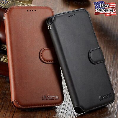 Leather Wallet Flip Card Holder Slot Cover Case For iPhone XR XS MAX 8/7/6 Plus