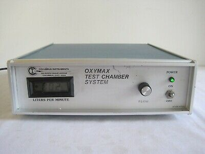Columbus Instruments Animal Science Oxymax Test Chamber Control Unit