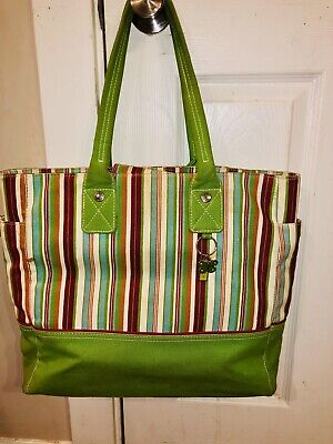 Tommy Hilfiger Large Canvas Tote - Shopper In GUC