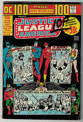 DC Comics JUSTICE LEAGUE OF AMERICA World Greatest Superheroes DC-17 100 Page VG