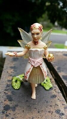 Lot 40 of 50. Bayala? Small child elf fairy with golden ball? SCHLEICH  RETIRED?