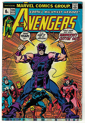 Marvel Comics THE AVENGERS Issue 109 Earth's Mightiest Heroes! VG-
