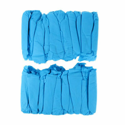 FJ- 100Pcs Thick Non-woven safety guard cleanly Shoe Covers Overshoes