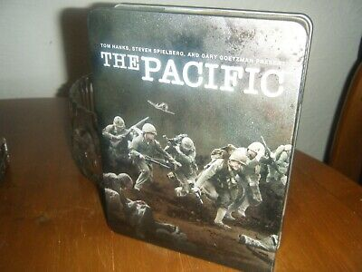 The Pacific (DVD, 2010, 6-Disc Set, Box Set) In Steel Tin