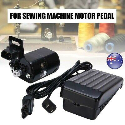 6 IN 1 220V 180W 0.9A Household Sewing Machine Electric Motor W/ Controller AU