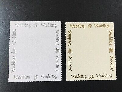 """/""""50/"""" a 35mm deckled edged age panel card topper embellishment pk10"""