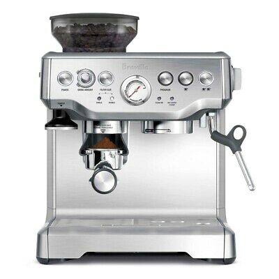 Breville The Barista Express BES870 8 Cups Coffee & Espresso Combo - Silver