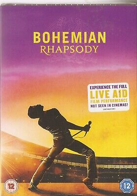Bohemian Rhapsody (DVD, 2018) Queen - Brand New & Sealed