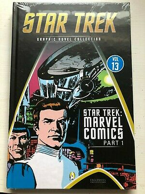 Star Trek Graphic Novel Collection Vol 13: Marvel Comics Part 1. Sealed Hardback