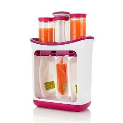 Squeeze Station Baby Food Organization Storage Containers Fruit Packing Machine