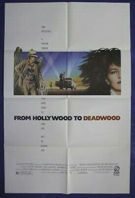 From Hollywood To Deadwood Original Movie Poster 1989