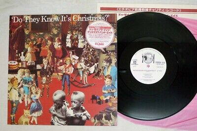 BAND AID DO THEY KNOW IT'S CHRISTMAS FEED THE WORLD FEED 112 Japan VINYL 12