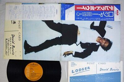 DAVID BOWIE LODGER RCA RVP-6390 Japan OBI VINYL LP