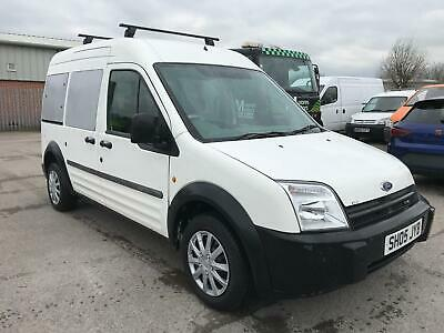 2005 Ford Transit Connect 90Ps Lwb 5 Seat Tourneo White **no Vat**