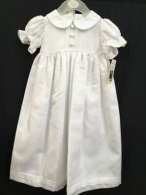 Frazer & James Traditional Christening Gown Age 6-12 months BNWT