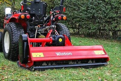 WFL145 - Winton Heavy Duty Flail Mower - 1.45m Wide - For Compact Tractors