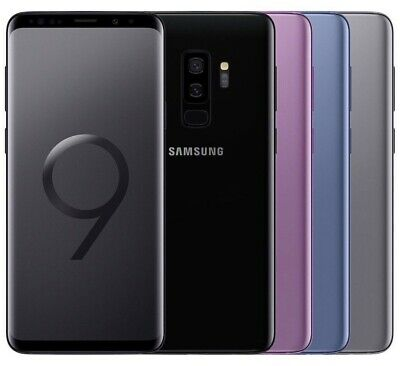 Samsung Galaxy S9+ Duos 64GB Android Smartphone ohne Simlock OVP 6,2 Zoll