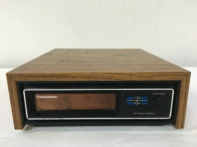 Vintage Elizabethan Stereo 8 Track Cassette Player - Beautiful - Working