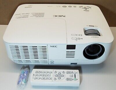 NEC NP V260WG PROJECTOR. 100% Globe +REMOTE+BAG+CABLES