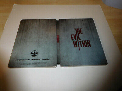 The Evil Within Steelbook Case G1 Unused (NO GAME) PS4 XBox One FREE UK SHIP