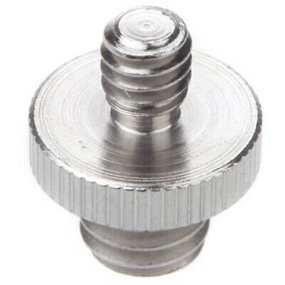 """2X(1/4 """"Male to 3/8"""" male threaded Double male screw adapter  H6S7)"""