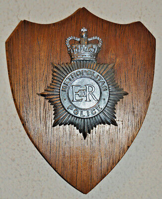Metropolitan Police wall plaque shield Constabulary