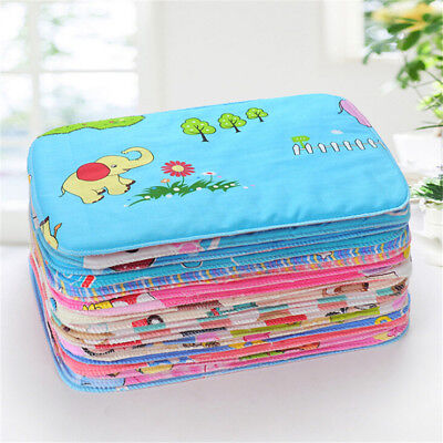 Baby Infant Waterproof Urine Mat Diaper Nappy Kid Bedding Changing Cover PadTDCA