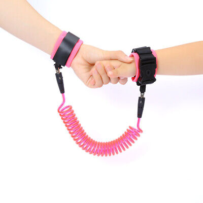 1.5m Baby Kids Safety Anti-lost Wrist Band Strap Link Bracelet Harness Leash